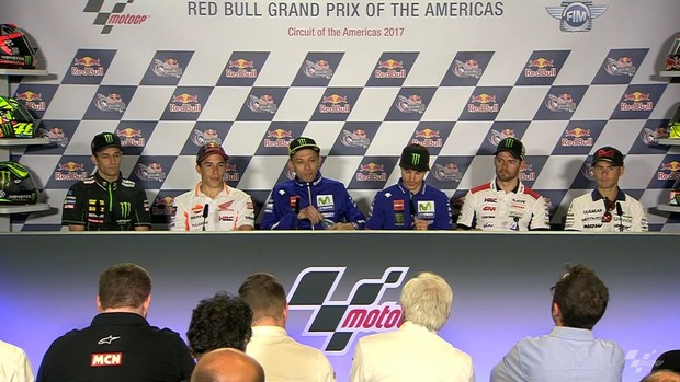 BLOG: Mundial de Motovelocidade - Coletiva de imprensa do GP das Américas teve até pedido de casamento...