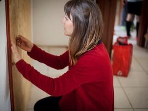 Gabriela Favero é uma das voluntários no projeto (Foto: Original Kids/Divulgação)