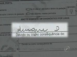 Dengue tipo D, em Marília (Foto: Reprodução/TV TEM)