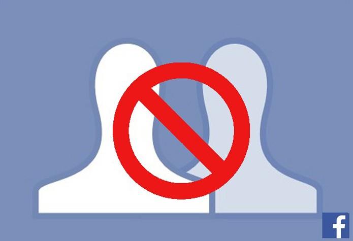 Bloquear contato no Facebook usando o e-mail da pessoa (Foto: Reprodução/Facebook)