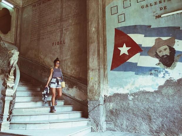 Bruna Marquezine posta foto em Cuba (Foto: Reprodução / Instagram)