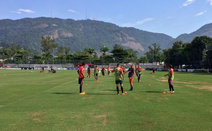 Treino Flamengo Gávea (Foto: Divulgação)