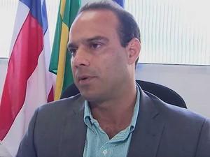 Maurício Lima, diretor da Guarda Municipal de Salvador (Foto: Imagem/TV Bahia)