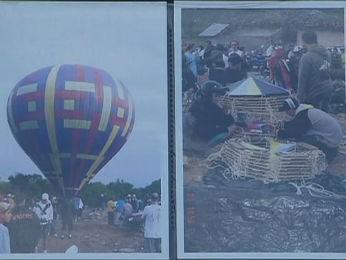 Álbum de fotografias mostra que grupo soltava balões frequentemente (Foto: Reprodução/RPC TV)