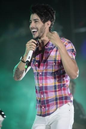 Gusttavo Lima canta no Festival de Verão de Salvador (Foto: Fred Pontes/ Divulgação)