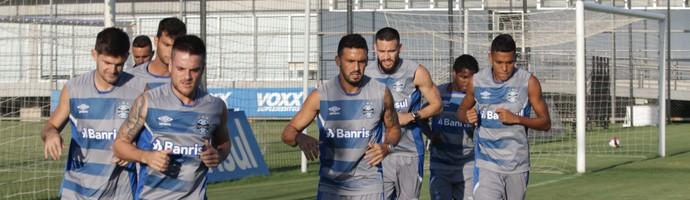 Grêmio titulares  (Foto: Eduardo Moura/GloboEsporte.com)