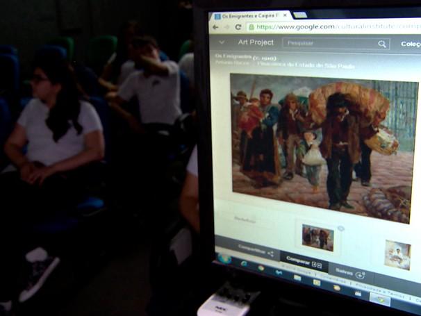 Art project (Foto: Globo)
