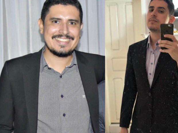 Tiago Teles diz que não gostava do que via no espelho e decidiu mudar alimentação  (Foto: Arquivo pessoal)