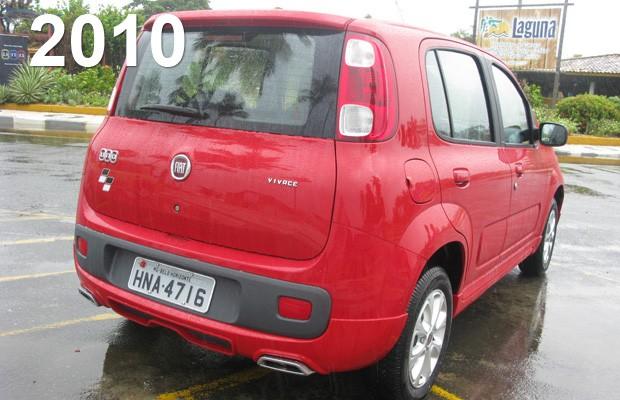 Fiat Uno 2010 (Foto: Milene Rios/G1)