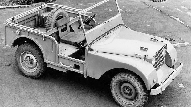 cone, Land Rover Defender faz 65 anos