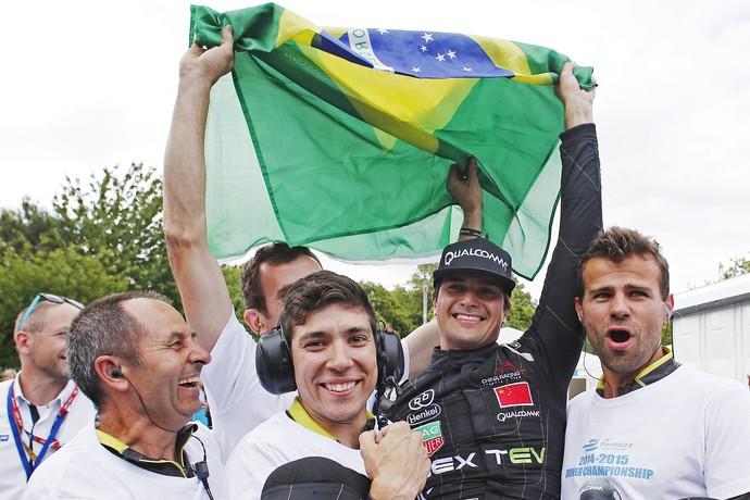 Nelsinho Piquet Fórmula E (Foto: Divulgação/FIA)