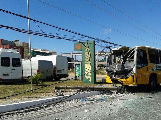 Acidente Salvador Bahia 1 (Foto: Maiana Belo/G1 BA)