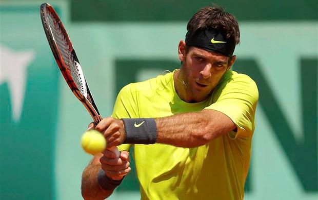 Del Potro, Roland Garros (Foto: Agência Reuters)