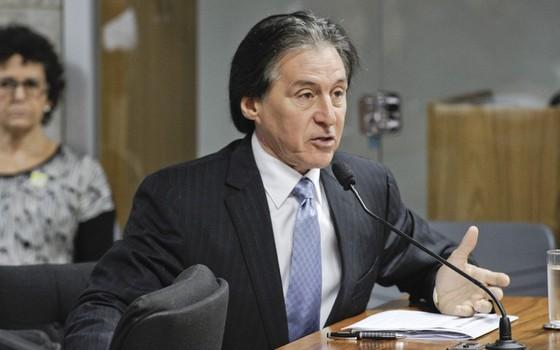 O senador Eunício Oliveira (PMDB-CE) (Foto: Pedro França/Agência Senado)