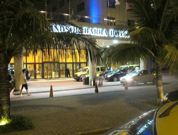 Hotel Flamengo Windsor Barra (Foto: Eduardo Lamas / Globoesporte.com)