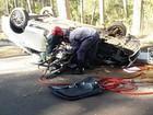 Acidente na MGC-354 faz vítima fatal e deixa 4 feridos em Patos de Minas