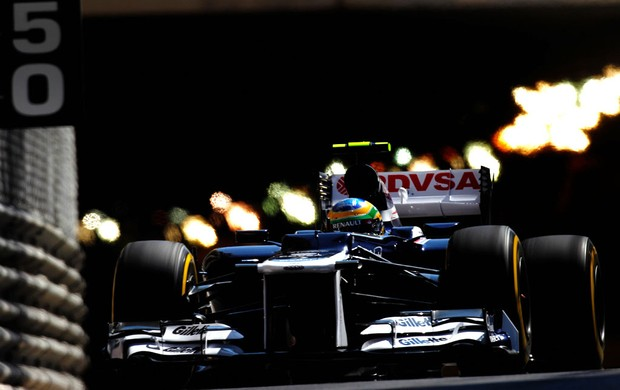 bruno senna williams gp de mônaco (Foto: Agência Getty Images)