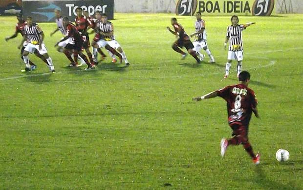 Paulista x Oeste - Paulistão (Foto: Marcus Vinícius Souza/Globoesporte.com)