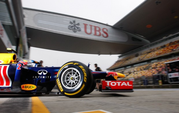 mark webber rbr gp da china (Foto: Agência Getty Images)