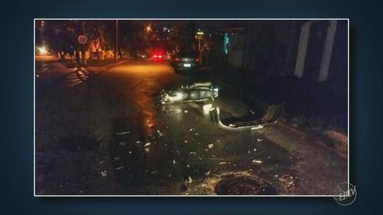 Acidente entre carro e moto mata motociclista em Vinhedo