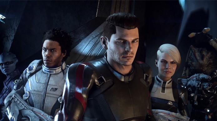 Mass Effect: Andromeda traz uma nova equipe em busca de um planeta para ser a nova Terra (Foto: Reprodução/YouTube)