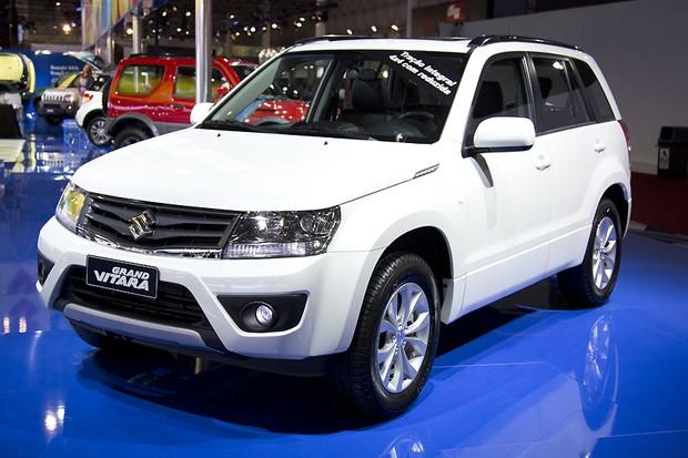 Suzuki Grand Vitara (Foto: Fabio Aro/Autoesporte)