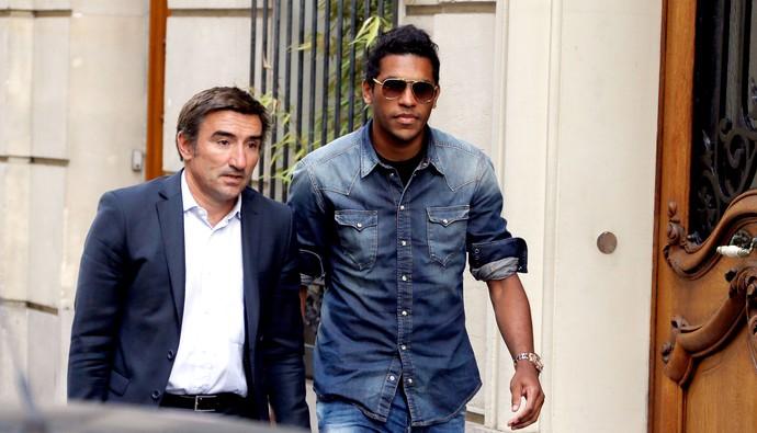 Brandão jogador julgamento por agressão na França (Foto: AFP)