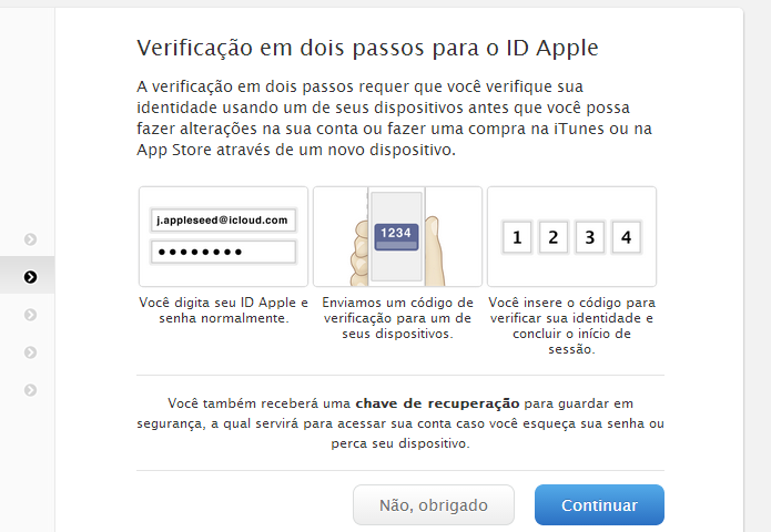Conheça as dicas para proteger a sua ID Apple (Foto: Divulgação/Apple) (Foto: Conheça as dicas para proteger a sua ID Apple (Foto: Divulgação/Apple))