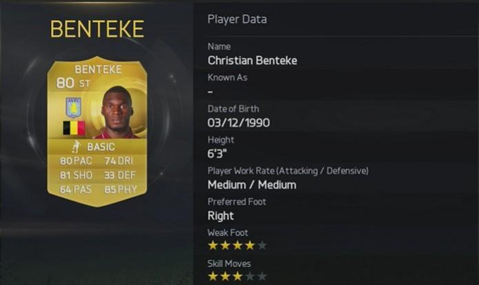 Christian Benteke (Foto: Divulgação)