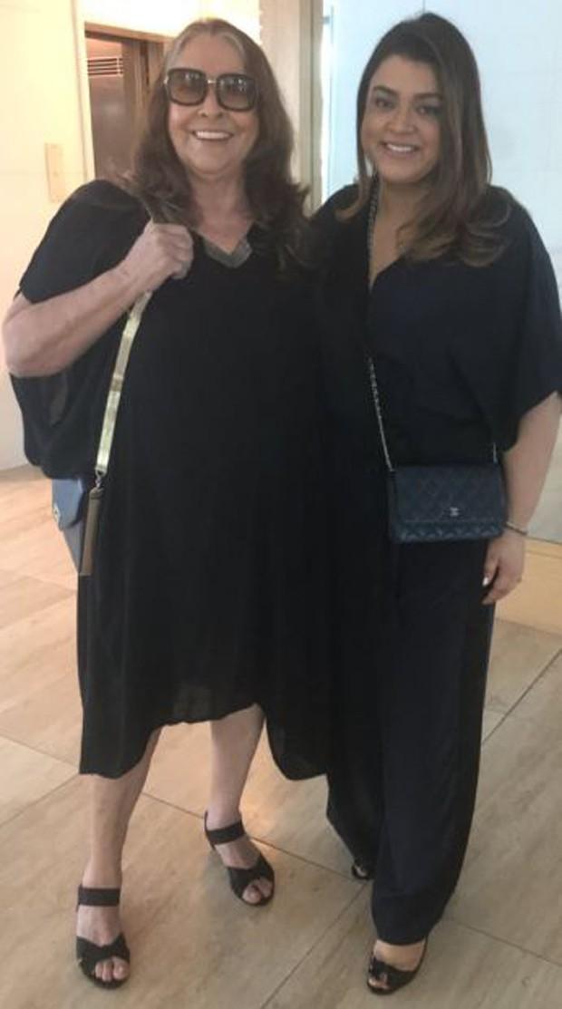 Preta Gil e a mãe, Sandra Gadelha (Foto: Reprodução/Instagram)