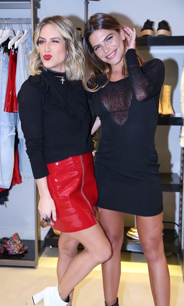 Giovanna Ewbank e Mariana Goldfarb (Foto: Anderson Borde / AgNews)
