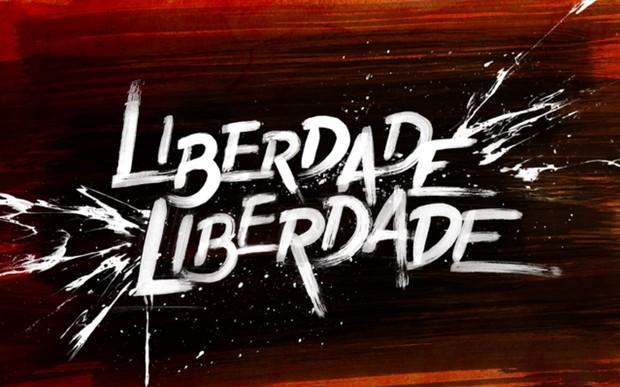 Logo da novela Liberdade, Liberdade (Foto: Divulgação Globo)