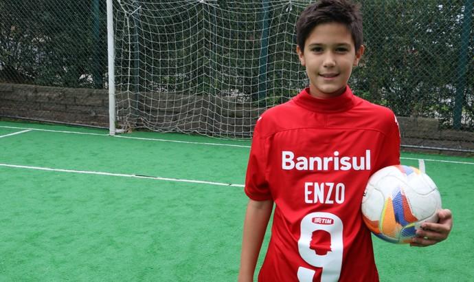 2f05b1c87b169 Enzo Filho do Fernandão especial Inter Um ano sem Fernandão (Foto  Leo  Urnauer