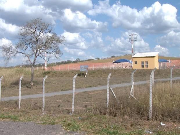 Aeroporto em Cláudio não tem autorização da Anac para funcionar (Foto: Reprodução/TV Integração)