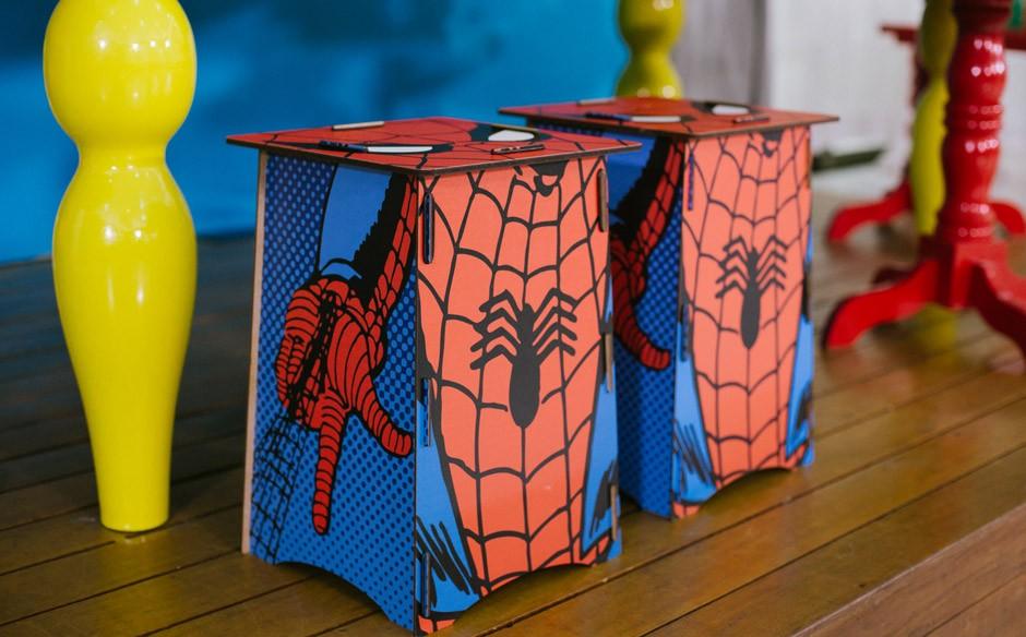 Festa Infantil Com Tema De Super Heróis No Fazendo A Festa