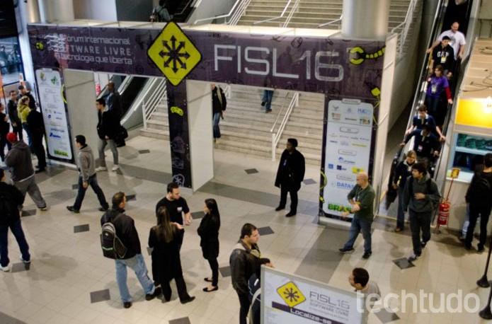 Palestras da FISL 16 serão transmitidas via streaming (Foto: Reprodução/Giordano Tronco)