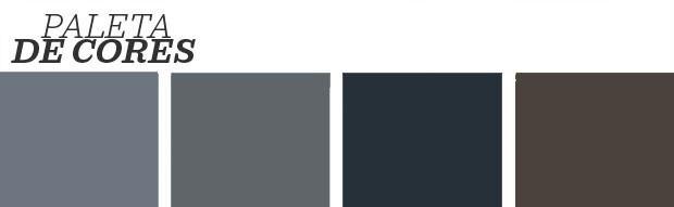 Décor do dia: quarto decorado em tons de cinza escuro (Foto: Reprodução)