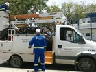 Operação da Celpe recolhe oito toneladas de cabos em fios no Recife