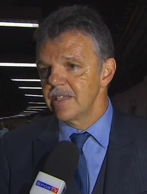 Gilmar Rinaldi Brasil Argentina (Foto: Reprodução / SporTV)