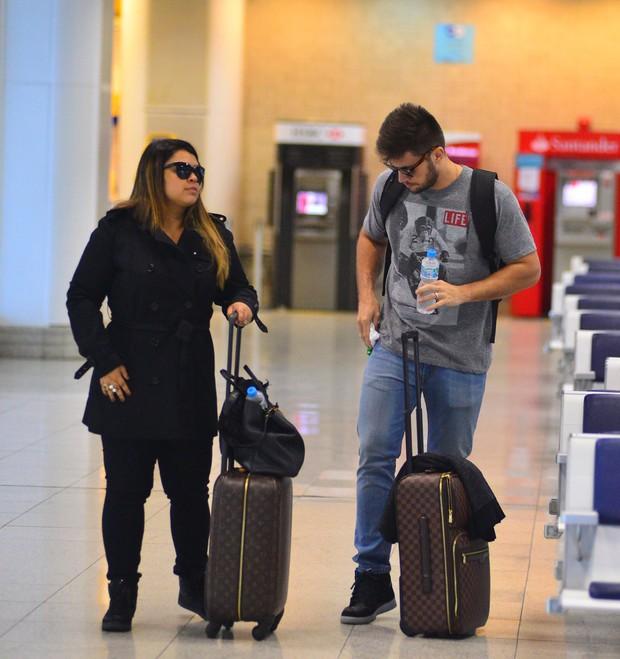Preta Gil e Rodrigo Godoy (Foto: William Oda / AgNews)