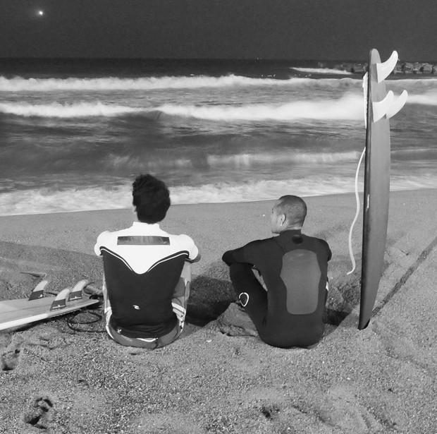 Gabriel Medina e Neymar (Foto: Reprodução/Instagram)