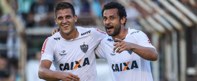 Rafael Moura; Fred; Atlético-MG (Foto: Bruno Cantini)