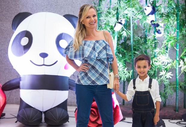 Eliana e Arthur (Foto: Manuela Scarpa/Brazil News)