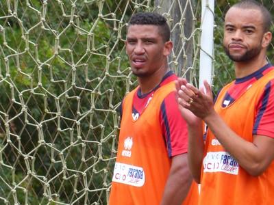 Jácio e Washington Paraná (Foto: Monique Silva)