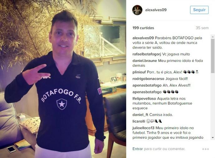 Alex Alves (Foto: Reprodução / Instagram)