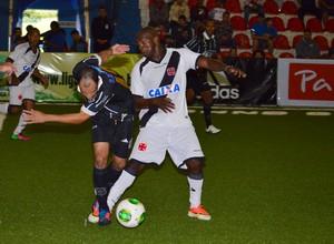 Rio Branco venceu o Vasco pela Liga Nacional de futebol 7 (Foto: Davi Pereira/Champions Comunicação)