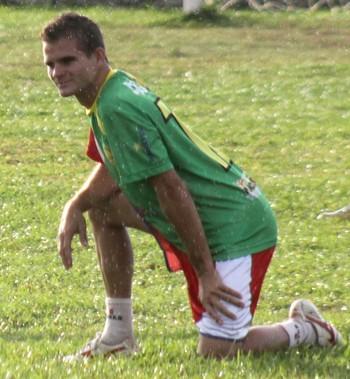 Zagalo, lateral-esquerdo do Plácido de Castro (Foto: João Paulo Maia)