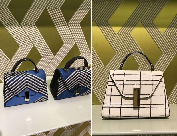 Valextra bags (Foto: @SuzyMenkesVogue)