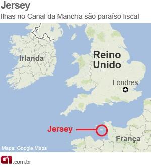 Jersey (Foto: Arte/G1)