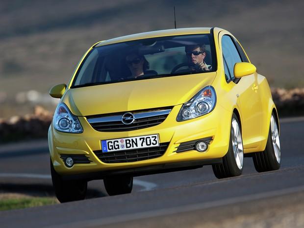 Opel Corsa está na 4ª geração na Europa e terá a 5ª apresentada no Salão de Paris (Foto: Divulgação)